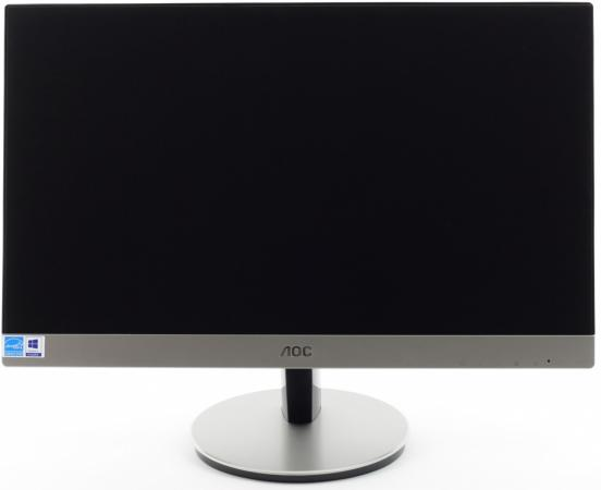 "Монитор 21.5"" AOC I2269Vwm/01 серебристый черный AH-IPS 1920x1080 250 cd/m^2 6 ms DisplayPort VGA HDMI монитор 22 aoc i2269vwm ips led 1920x1080 5ms vga hdmi displayport"