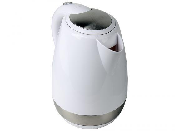 Чайник Smile WK 5126 2000 Вт 1.7 л пластик белый утюг smile si 1813 2000 вт бело сиреневый