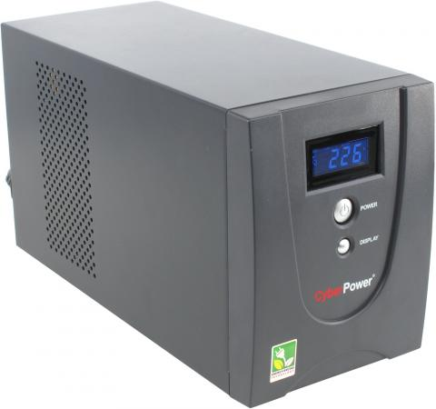 ИБП CyberPower VALUE1200ELCD 1200VA ибп powercom kin 1200ap rm2u 1200va черный