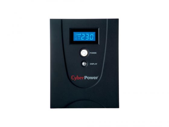 ИБП CyberPower 2200VA VALUE2200EILCD черный ибп cyberpower 650va 360w ut650ei черный