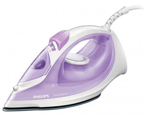 Утюг Philips GC 1026/30 2000Вт фиолетовый утюг philips gc 1026 30 2000вт фиолетовый