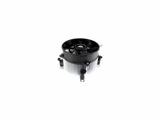 Кулер для процессора GlacialTech IceHut 1150 CU Light(E) Socket 1150/1155/1156 3pin 25dB Al+Cu 95W 440g клипсы OEM