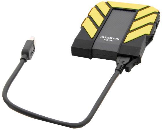 "Внешний жесткий диск 2.5"" USB3.0 1Tb A-Data AHD710P-1TU31-CYL желтый от Just.ru"