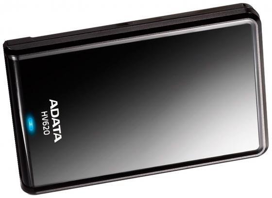 Внешний жесткий диск 2.5 USB3.0 500Gb A-Data AHV620-500GU3-CBK черный жесткий диск a data classic hv100 1tb usb 3 0 black ahv100 1tu3 cbk