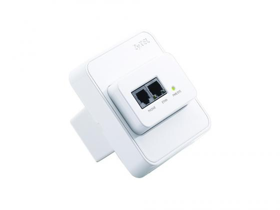 Точка доступа ZyXEL NWA1300-NJ (SINGLE-PACK) 802.11n 150Mbps 2.4GHz коммутатор zyxel gs1100 16 gs1100 16 eu0101f