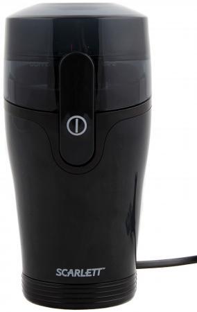 Кофемолка Scarlett SC-4245 130Вт черный масляный радиатор scarlett sc oh67b02 7