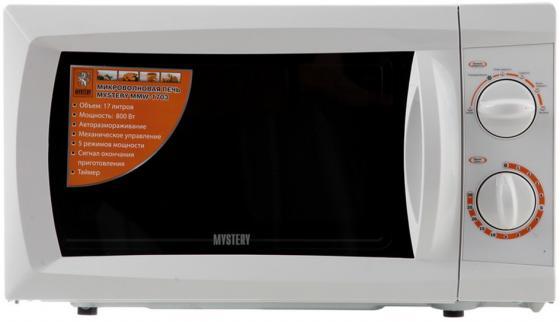 Микроволновая печь MYSTERY MMW-1703 700 Вт белый микроволновая печь mystery mmw 1707 белый