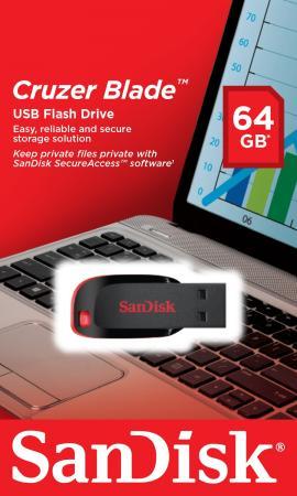 все цены на Флешка USB 64Gb SanDisk Cruzer Blade SDCZ50-064G-B35 черный онлайн