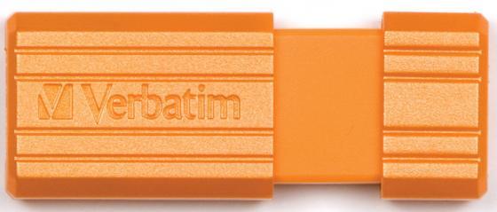 Флешка USB 16Gb Verbatim Store 'n' Go PinStripe 49069 USB2.0 оранжевый verbatim store n go pinstripe 32gb