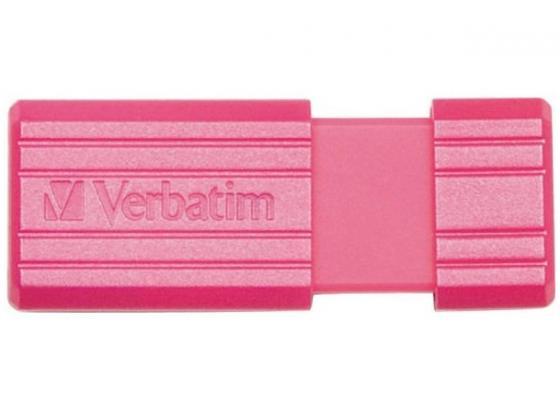 Флешка USB 32Gb Verbatim Store 'n' Go PinStripe 49056 USB2.0 розовый цена и фото