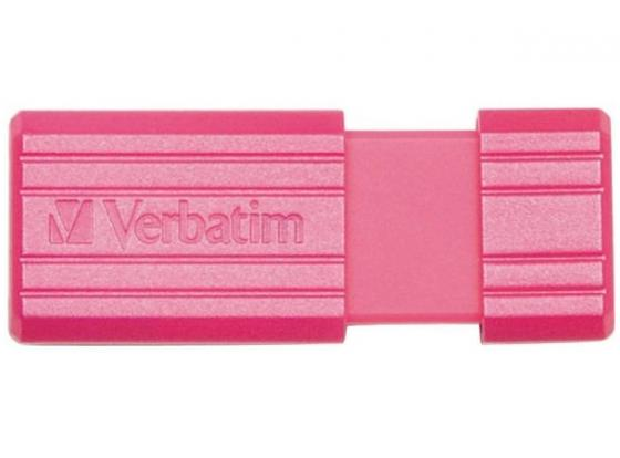 Флешка USB 32Gb Verbatim Store 'n' Go PinStripe 49056 USB2.0 розовый флешка verbatim store n go pinstripe 16 гб pink 709141