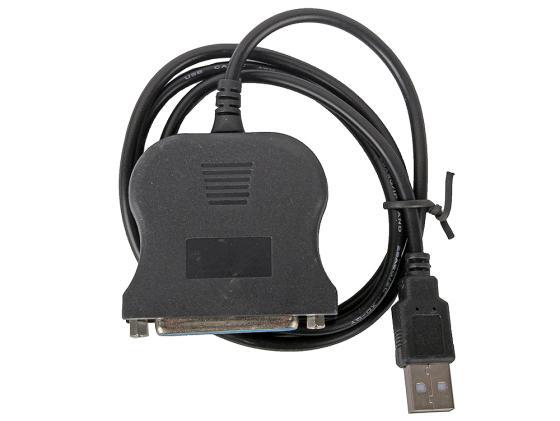 Кабель-переходник USB 2.0 AM-LPT 0.85м ORIENT ULB-225 viewcon usb lpt адаптер viewcon ve143