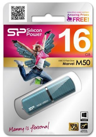 Флешка USB 16Gb Silicon Power M05\\М50 SP016GBUF3M50V1B синий