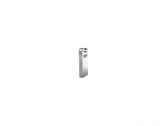 Фото - Флешка USB 8Gb Silicon Power Touch T03 SP008GBUF2T03V1F серебристый флешка 8gb silicon power sp008gbuf3x31v1k usb 3 0 microusb черный