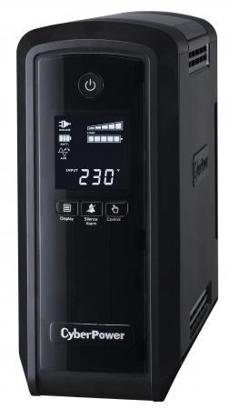 ИБП CyberPower 900VA CP900EPFCLCD RU черный все цены