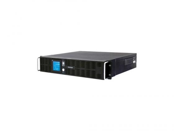 ИБП CyberPower 1000VA PR 1000 LCD 2Unit line-interactive PR1000ELCDRT2U черный цены
