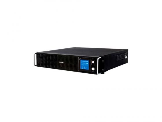 ИБП CyberPower 2200VA PR 2200 LCD XL 2Unit line-interactive PR2200ELCDRTXL2U черный ибп cyberpower 650va 360w ut650ei черный