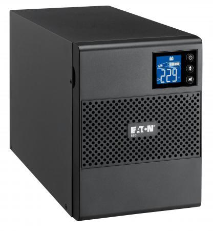 ИБП Eaton 5S 5SC Tower 750VA черный 5SC750i ибп eaton 5sc 5sc1500i 1050w 1500va