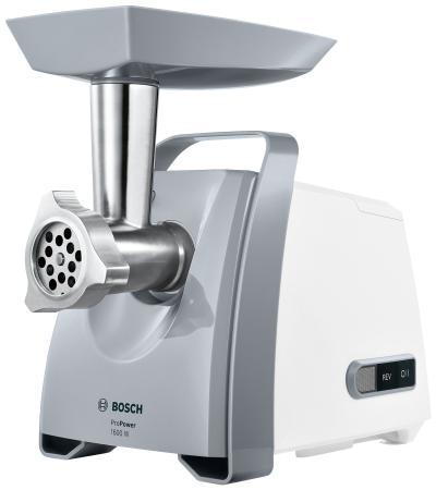 Электромясорубка Bosch MFW45020 500 Вт серебристый цена
