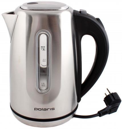 Чайник Polaris PWK 1718CAL 1800 Вт 1.7 л металл серебристый обогреватель polaris pch 1024 белый