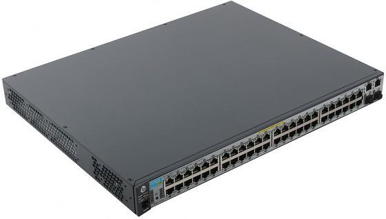 Коммутатор HP 2620-48-PoE управляемый 48 портов 10/100Mbps 2xSFP J9627A
