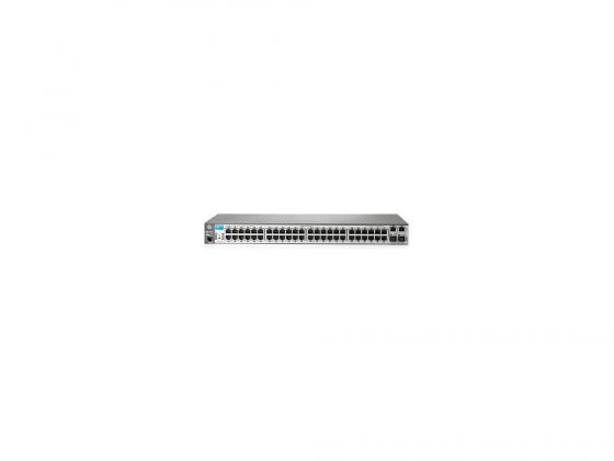 Коммутатор HP 2620-48-PoE управляемый 48 портов 10/100Mbps 2xSFP J9627A коммутатор cisco sf220 48 управляемый 48 портов 10 100mbps 2xsfp