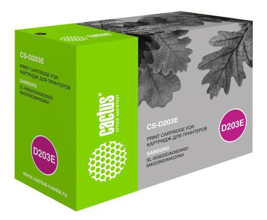 Картридж Cactus CS-D203L для Samsung SL-M3820D/M3820ND/M4020ND/M4020NX черный