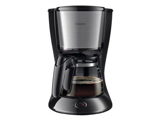 Кофеварка Philips HD 7457/20 капельная 1000Вт 1.2л черный кофемашина philips hd 7457 черный