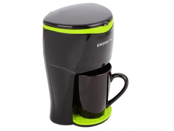 Кофеварка Polaris PCM 0109 350 Вт черный кофеварка polaris pcm0210 капельная черный салатовый