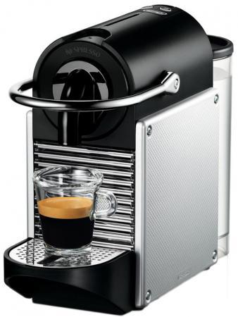 Кофеварка DeLonghi PIXIE EN 125.S 1260 Вт серебристый все цены