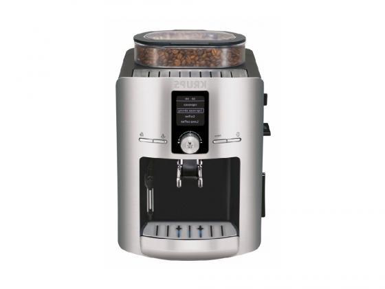 Кофемашина Krups EA826 1450Вт 1.8л черный кофемашина krups ea894t10 серебристый