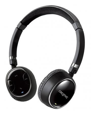 Гарнитура Creative Creative WP-350 черный Bluetooth 51EF0490AA001 наушники creative wp 250 bluetooth 51ef0480aa001
