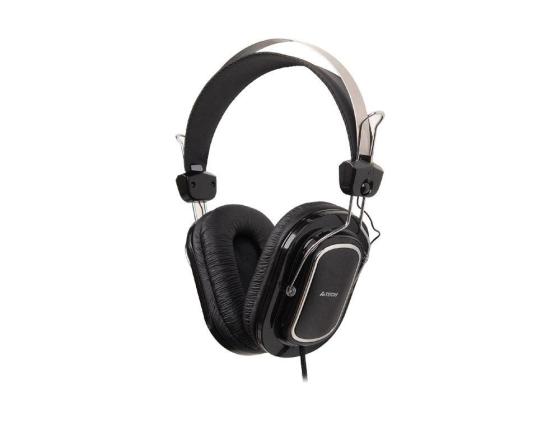 Гарнитура A4Tech HS-200 3.5мм черный a4tech hs 19