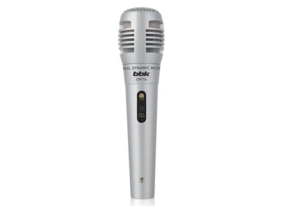 Микрофон BBK CM114 серебристый стоимость