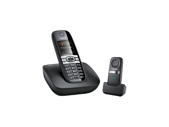 Гарнитура беспроводная Gigaset L410 чёрный радиотелефон gigaset l410 модуль громкой связи