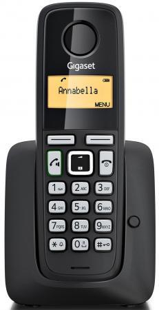 Радиотелефон DECT Gigaset A220A черный радиотелефон