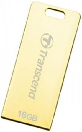 Флешка USB 16Gb Transcend Jetflash T3G TS16GJFT3G золотистый флешка usb 16gb transcend jetflash 750 usb3 0 ts16gjf750k черный