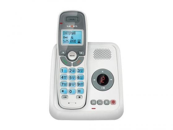 Радиотелефон DECT Texet TX-D6955A белый телефон проводной texet tx 201 белый