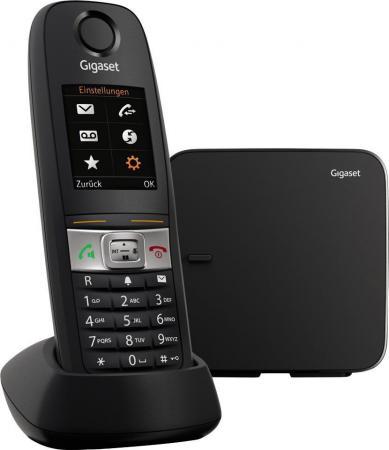 Радиотелефон DECT Gigaset E630 черный радиотелефон dect gigaset e630h черный
