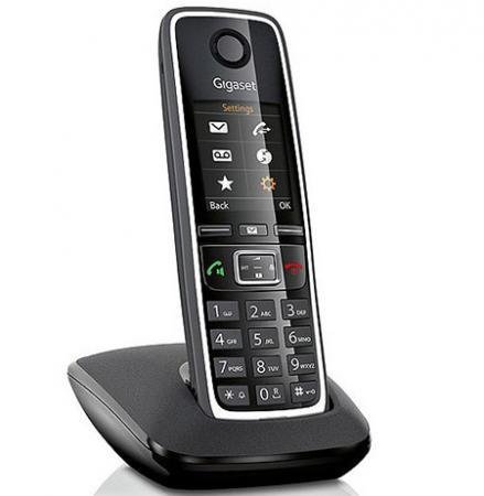 Радиотелефон DECT Gigaset C530 черный телефон gigaset c530
