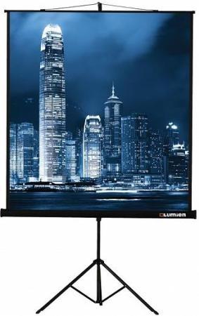 Экран на штативе Lumien Master View 213х213см Matte White FiberGlass LMV-100104 экран на штативе lumien master view 153х203 lmv 100107