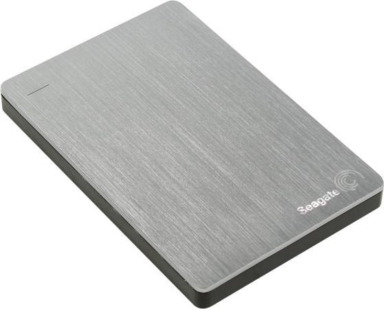 """Внешний жесткий диск 2.5"""" USB3.0 2 Tb Seagate BackUp Plus Portable Drive STDR2000201 серебристый"""