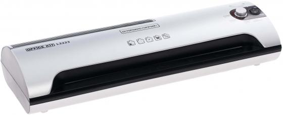 Ламинатор Office Kit L3223 A3 75х150 мкм 35 см/мин бело-черный  magnit rmc 3223