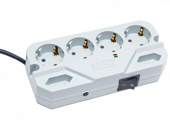 Сетевой фильтр MOST Compact СHV 6 розеток 5 м белый compact