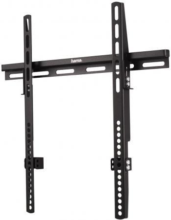 Кронштейн HAMA H-12026 XL черный для ЖК ТВ до 50 настенный VESA 400x400 max 60 кг кронштейн hama h 118114 черный для жк настенный наклон