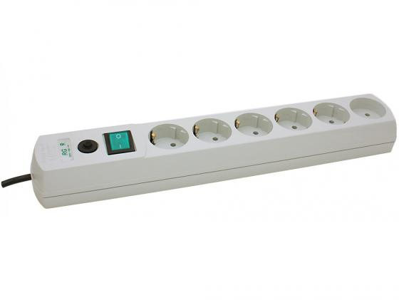 Сетевой фильтр MOST Real RG 6 розеток 5 м белый