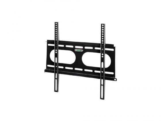 Кронштейн HAMA H-11757 L черный для ЖК ТВ до 42 настенный VESA 400x400 max 50 кг кронштейн hama h 118114 черный для жк настенный наклон