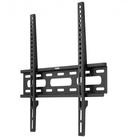 Кронштейн HAMA H-108770 XL черный для ЖК ТВ до 50 настенный VESA 400x400 max 30 кг кронштейн для тв hama h 108771 xl