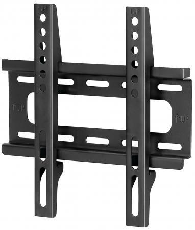 Кронштейн HAMA H-108714 L черный для ЖК ТВ до 46 настенный VESA 200x200 max 25 кг кронштейн hama h 118663 черный 35кг 47