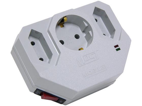 Сетевой фильтр MOST Mobile MHV 3 розетки белый сетевой фильтр most mhv белый [mhv wh]
